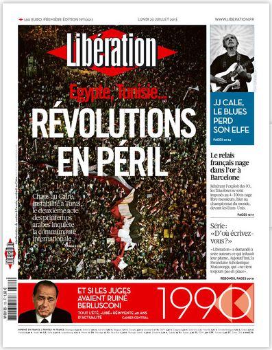 Libération - 29 juillet 2013