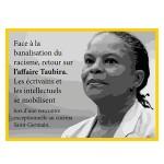 """Rencontre exceptionnelle sur """" l'affaire Taubira """" le dimanche 17 novembre à 17h30"""