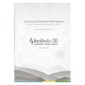 Kwibuka20: Discours du Président Paul Kagame