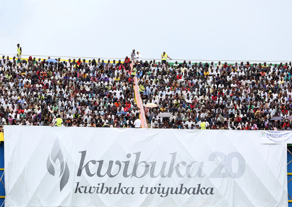 kwibuka 20 on 7 April 2014