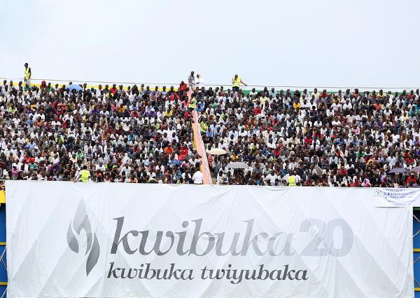kwibuka 20 on 7 April 2014