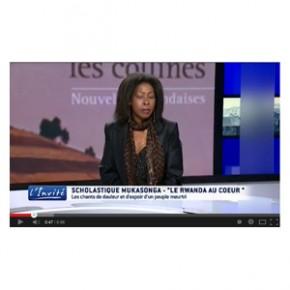 """Video - TV5 Monde :  """"Le Rwanda veut la vérité sur le génocide"""" - Scholastique Mukasonga"""