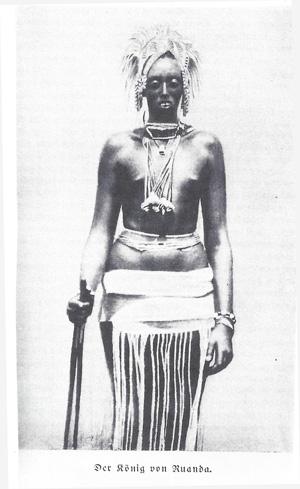 Le roi Yuhi Musinga ( photo illustrant Caput Nili)