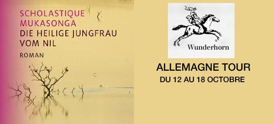 Die Heilige Jungfrau vom Nil - Allemagne Tour -wunderhorn