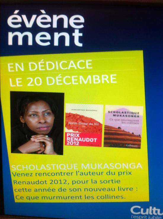 Cultura Caen - Scholastique Mukasonga dédicace