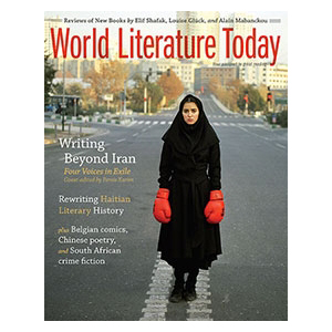 World Literature Today book review march 2015
