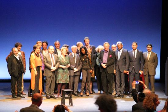 Cérémonie officielle de remise des Prix Bernheim 2015 pour les Sciences, les Arts et les Lettres de la Fondation du Judaïsme français.