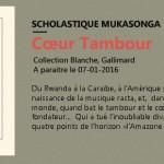 Mon nouveau roman 'Cœur Tambour'