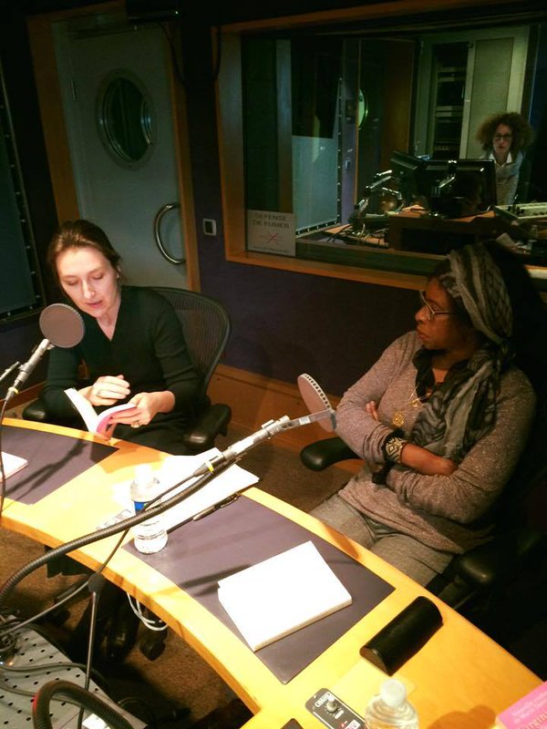 France Culture dans l'émission 'Le Temps des écrivains' présentée par  Christophe Ono-Dit-Biot avec Marie Darrieussecq, Scholastique Mukasonga et Sylvain Pattieu.