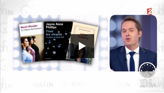 Télé Matin | France 2 : Librairies - A Lyon, les libraires aiment - journée de la femme