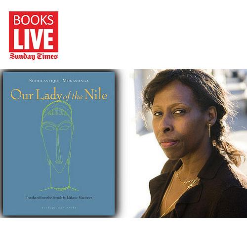 """e magazine littéraire de Johannesbourg, BOOKS Live partage un extrait de """"Our Lady Of the Nile"""" de Scholastique Mukasonga, rwanda"""