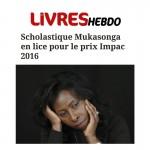 Livres Hebdo : Le prix Impac 2016