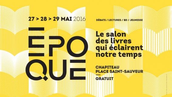 Époque - Salon du livre de la ville de Caen