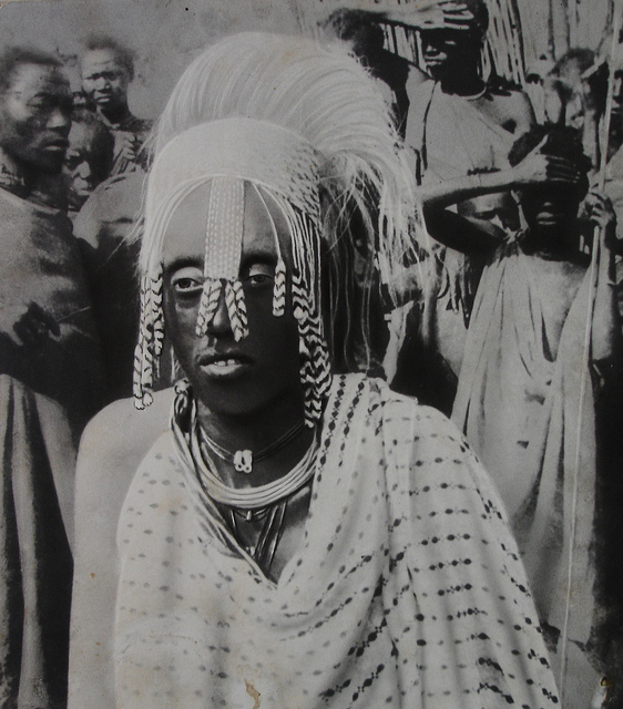Il me semble que, sous son voile de perles, j'ai cru voir couler des larmes sur le  visage de Musinga. Scholastique Mukasonga, Roi Rwanda