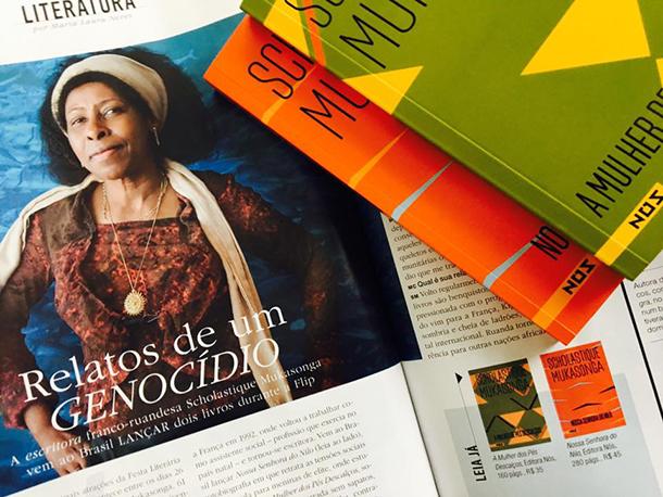 Marie Claire Brasil interview Scholastique Mukasonga