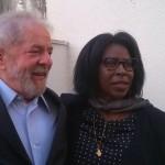 Rencontre entre Lula et Scholastique Mukasonga