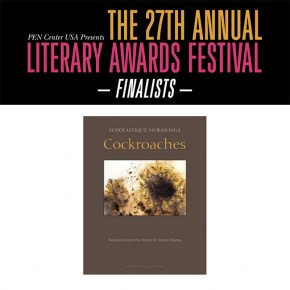 Cockroaches dans la liste finale du PEN Center USA Litterary Awards
