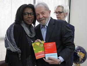 Rencontre président Lula et Scholastique Mukasonga - Sao Paulo Brésil - Rwanda