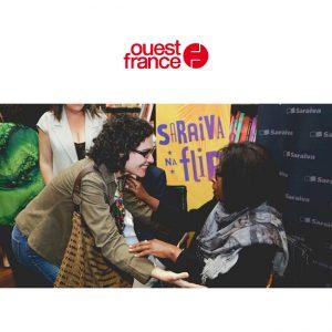 Ouest-France : Grande ferveur au Brésil autour de l'auteure de Saint-Aubin-sur-Mer (Calvados), dont deux livres sont classés dans les 20 meilleures ventes. Sa présence au festival littéraire de Paraty l'a confirmé.