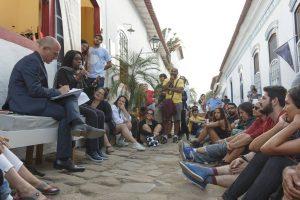 rue de Paraty Flip 2017 avec Scholastique Mukasonga RwandaAC
