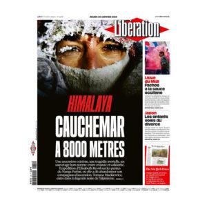 Journal libération daté du 30 janvier 2018 - Normands solidaires