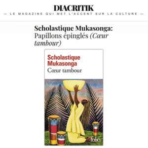 Diacritik : Papillons épinglés (Cœur tambour - scholastique Mukasonga) Rwanda
