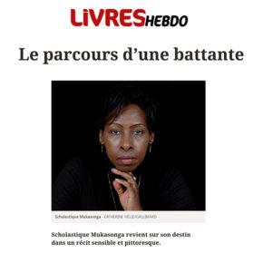 Livres Hebdo : Le parcours d'une battante