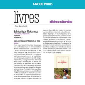 A Nous Paris : « Le seul choix véritable de sa vie »