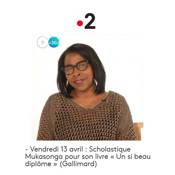 Dans quelle éta-gère : « Un si beau diplôme » - Scholastique Mukasonga - Rwanda - Gallimard