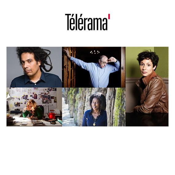 Télérama a choisi d'interroger cinq auteurs invités au festival Livres & Musiques, qui se tient du 13 au 15 avril à Deauville,  sur leur lien à la musique, et son influence sur leur œuvre.