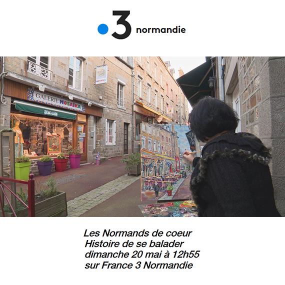 Les Normands de coeur - Histoire de se balader sur France 3 normandie