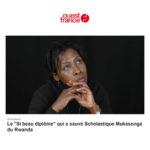 Ouest France: Le «Si beau diplôme» qui a sauvé Scholastique Mukasonga