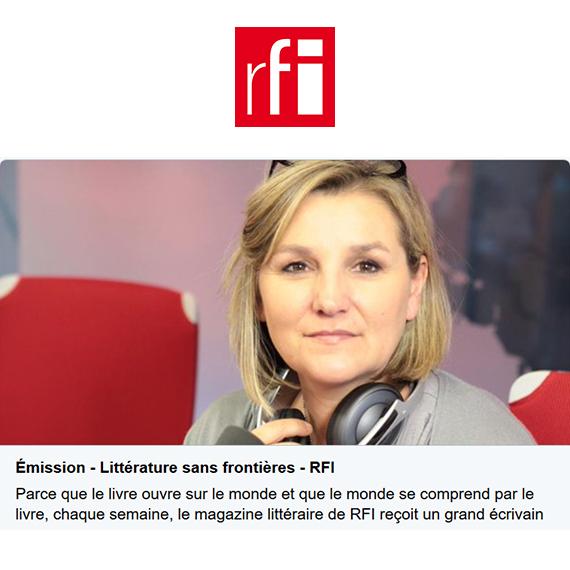 """(Ré)écoutez mon entretien dans l'émission Littérature sans frontières présentée par Catherine Fruchon-Toussaint sur mon nouveau livre """"Un si beau diplôme !"""" sur RFI."""