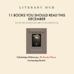 11 Books You Should Read This December – Literary Hub