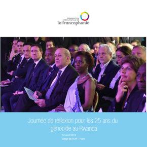 OIF : Journée de réflexion sur le génocide de 1994 contre les Tutsi au Rwanda