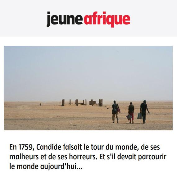 Jeune Afrique Tribune Mukasonga Candide 2019