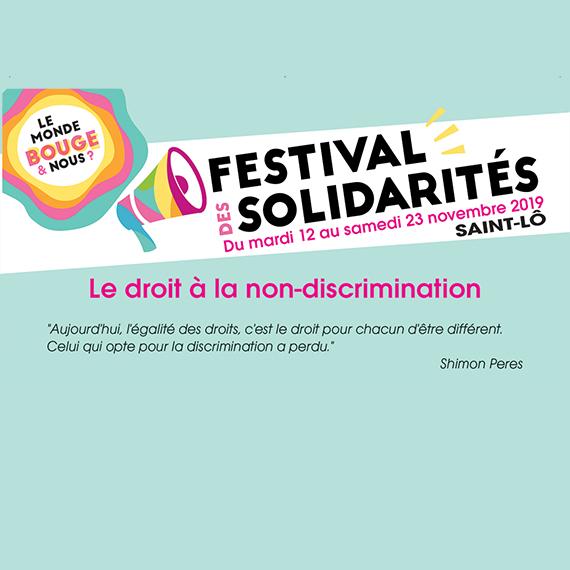 FESTISOL (Festival des Solidarités) à Saint-Lô en partenariat avec ActionAid Peuples Solidaires, Artisans du Monde, Secours Catholique, ACAT, Ligue des Droits de l'Homme, Association Du Bessin au Népal