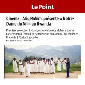 Le Point : Le film « Notre-Dame du Nil » présenté au Rwanda